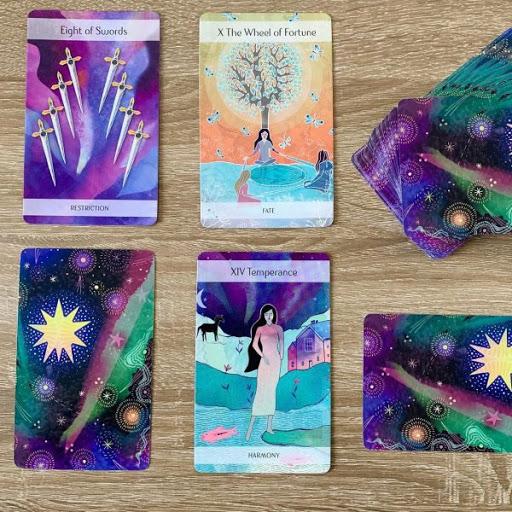 magic nordic tarot by mystic tarot