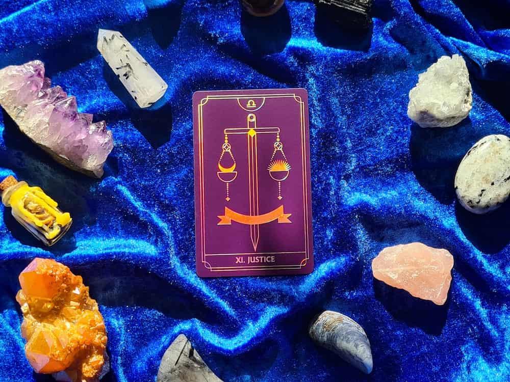 justice tarot card 11